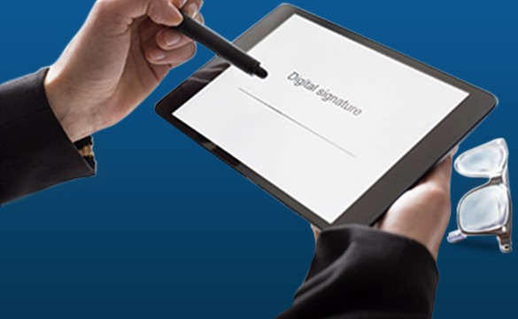 digital signature for government documents offices